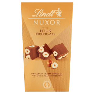 Lindt Nuxor with Milk Chocolate 165g