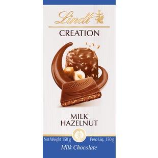 Lindt Creation Hazelnut Milk 150g