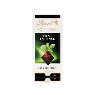 Lindt Excellence Dark Mint Intense Bar 100g