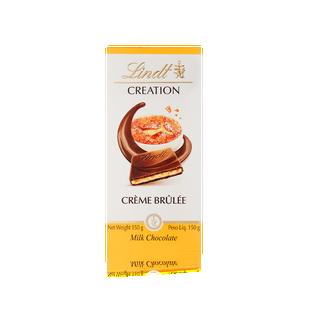Lindt Creation Crème Brulee Bar 150g