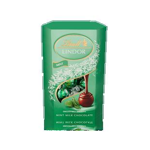 Lindt Lindor Milk Mint Truffles 200g