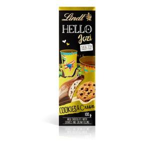 Lindt HELLO Cookies & Cream Bar 100g