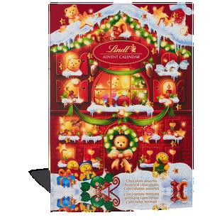 Teddy Advent Calendar 172g